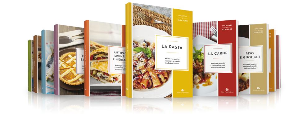 I ricettari di Slow Food